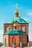 Rússia Pervouralsk A igreja de Peter e de Paul Fotos de Stock