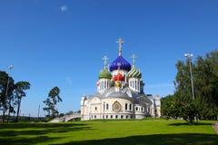 Rússia Região de Moscovo Peredelkino Templo do grande príncipe santamente Igor de Chernigov imagem de stock