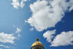 Rússia, St Petersburg, a catedral de Isaac, 07 14 2015: imagens de stock royalty free