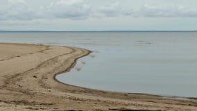 Rússia St Petersburg Kronshtadt A costa do Golfo da Finlândia perto do ` do ` SHANETS do forte filme
