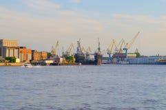 Rússia, St Petersburg, vista Fotografia de Stock