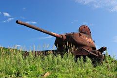 Rússia. Tanque do mar de japão Imagens de Stock Royalty Free