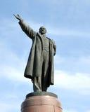 Rússia volgograd Um monumento a Lenin imagens de stock