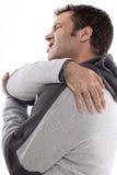 Rückenschmerzen Lizenzfreie Stockbilder