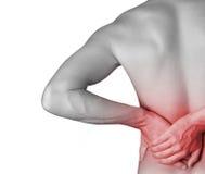 Rückenschmerzen Lizenzfreies Stockfoto