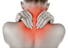 Rückenschmerzen Stockbilder