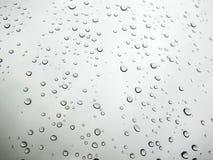 Rückgangsbilder, Regen fällt, Regen fällt auf Glas Lizenzfreies Stockfoto