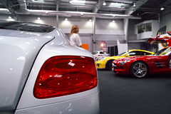 Rücklicht, Bentley Lizenzfreie Stockbilder