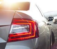 Rücklichter eines Autos Lizenzfreies Stockbild