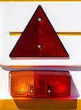 Rücklichter eines Fahrzeugs Lizenzfreie Stockfotografie