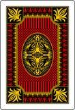 Rückseite 62x90 Millimeter der Spielkarte Lizenzfreie Stockbilder