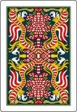 Rückseite 62x90 Millimeter der Spielkarte Lizenzfreies Stockfoto