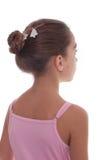Rückseite der jungen Ballerina Lizenzfreies Stockfoto