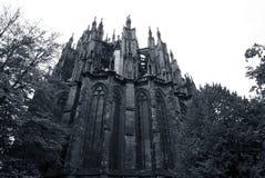Rückseite der Köln-Kathedrale Lizenzfreie Stockfotos