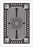 Rückseite der Spielkarte Stockfoto