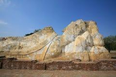 Rückseite der stützenden großen Buddha-Statue Lizenzfreies Stockbild