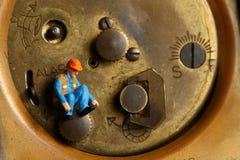 Rückseite der Uhr Stockbilder