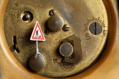 Rückseite der Uhr Lizenzfreies Stockbild