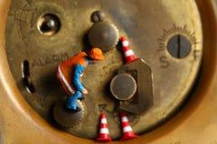 Rückseite der Uhr Lizenzfreies Stockfoto