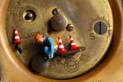 Rückseite der Uhr Stockfotografie