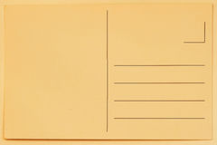 Rückseite der Weinlesepostkarte für die Platzierung von Mitteilungen und von Adressen Papierbeschaffenheit, Hintergrund Konzept,  Lizenzfreie Stockbilder