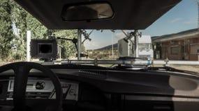 Rückseite einer Digitalkamera, mit einem leeren LCD-Bildschirm Lizenzfreie Stockfotografie