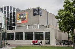Rückseite Van Gogh Museum At Amsterdams die Niederlande lizenzfreies stockbild