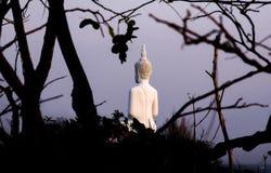 Rückseite von Buddha-Statue Lizenzfreie Stockfotos