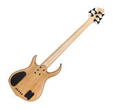 Rückseite von elektrischem Bass Guitar Stockfotografie