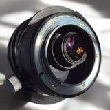 Rückseite von Nikkor-PC 35mm F2 8 NKJ Lizenzfreie Stockfotografie