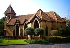 Rückseitenansicht der Kapelle Lizenzfreies Stockfoto