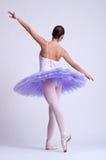 Rückseitige Abbildung einer Ballerina Lizenzfreie Stockfotos