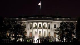 Rückseitige Fassade des Weißen Hauses Lizenzfreie Stockfotografie
