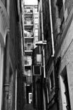 Rückseitige Gasse, alte Stadt, Edinburgh, Schottland Stockfotos