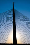 Rückseitige helle Brücke Lizenzfreie Stockbilder
