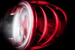 Rückseitige Leuchte Stockfoto