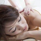 Rückseitige Massage Lizenzfreies Stockbild