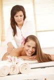 Rückseitige Massage lizenzfreies stockfoto