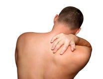 Rückseitige Schmerz Lizenzfreie Stockbilder