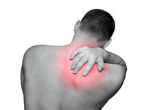 Rückseitige Schmerz Lizenzfreies Stockfoto
