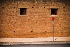 Rückseitige Straße Lizenzfreies Stockfoto
