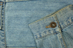 Rückseitige Tasche Jeans Lizenzfreies Stockfoto