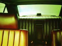 Rücksitz Stockfoto