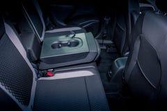 Rücksitz eines Autos Stockfotografie