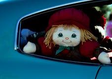 Rücksitz-Puppe Stockfoto