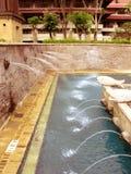 Rücksortierung-Brunnen Stockfoto