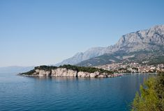 Rücksortierung Makarska. Kroatien Stockfoto