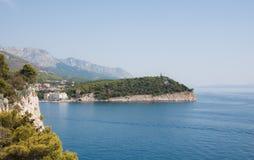 Rücksortierung Makarska. Kroatien Stockfotografie