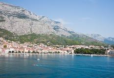 Rücksortierung Makarska. Kroatien Lizenzfreie Stockfotos