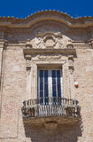 Rücksortierung Makarska San Severo Puglia Italien Lizenzfreie Stockfotografie